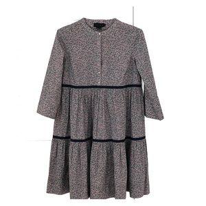HATCH Floral Cotton Short Dress